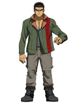 Akihiro Altland wig from Mobile Suit Gundam: Iron-Blooded Orphans